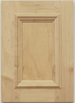 Fleming kitchen cabinet door with applied moulding