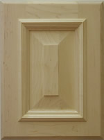 Belvadere cabinet door in maple
