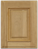Farrier kitchen cabinet door with applied moulding