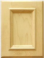 Mitchell kitchen cabinet door with applied moulding