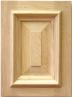 Hickling kitchen cabinet door with applied moulding
