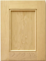 Stonybrook kitchen cabinet door with applied moulding
