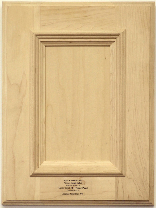 Osbourne cabinet door in maple