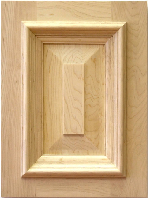 Hickling cabinet door in maple