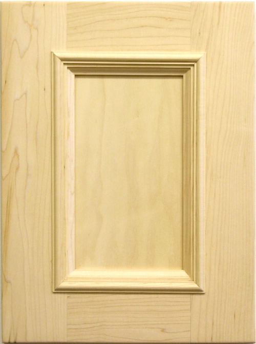 Glenellen Door with applied moulding in maple