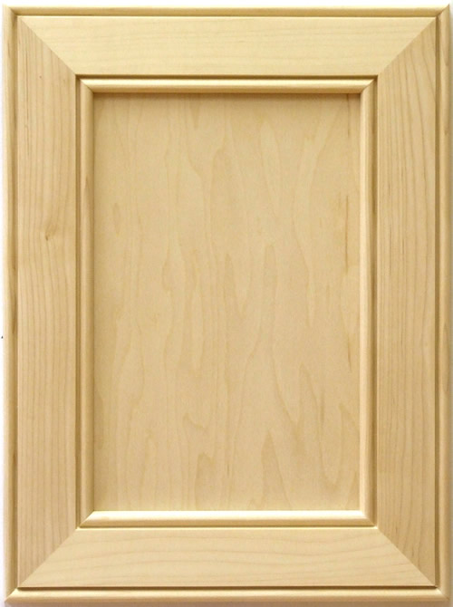 Colchester mitered cabinet door in maple