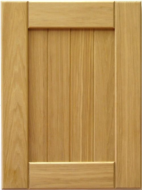 Mission Cabinet Door in Hickory