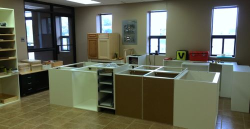 Allstyle research and development where we experiment, test and train on cabinet door design and installation. We test our doors on custom cabinets, home depot, rona, ikea akurum and ikea sektion cabinets.