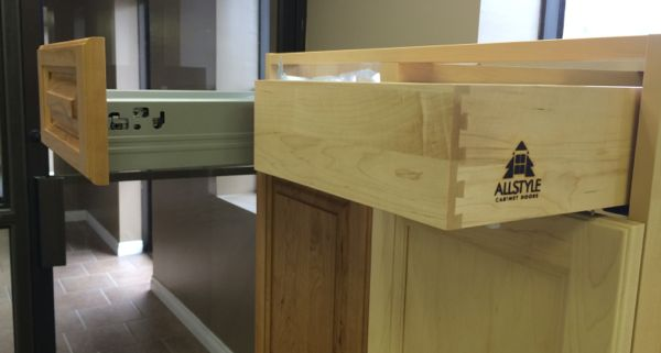 An Allstyle Dovetail drawer retrofit into an IKEA akurum base cabinet. Sektion base cabinet drawer retrofit is pending.