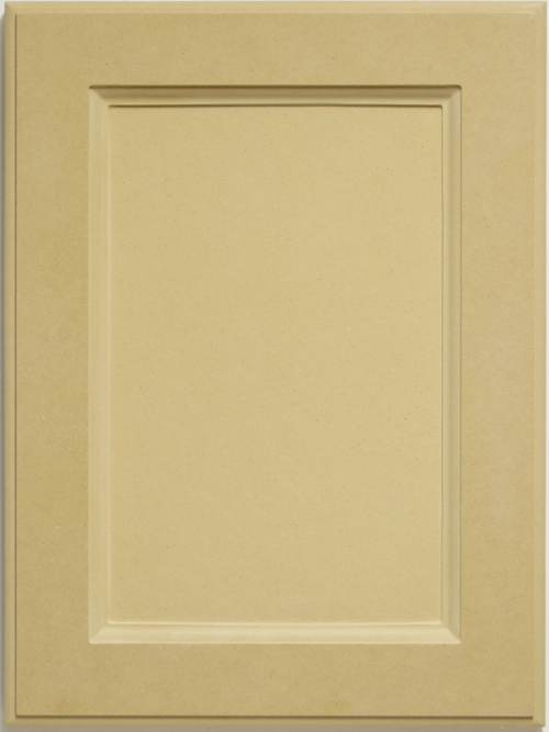 Beverly MDF cabinet door with ogee inside profile and flat center panel. Made in Toronto, Canada.