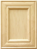 Arial Mitered Kithen Cabinet Door in Maple