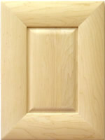 Birmingham Mitered kitchen cabinet door in Maple