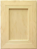 Wilmington mitered kitchen cabinet door in Maple