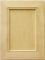 Calitri Mitered Kitchen Cabinet Door in Maple