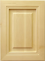 Thames mitered kitchen cabinet door in Maple
