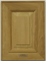 Kempton mitered kitchen cabinet door in Cherry