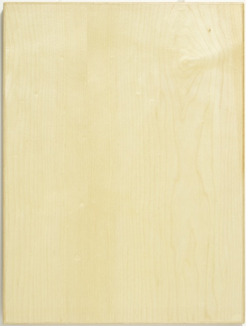 veneer cabinet door in flat cut maple