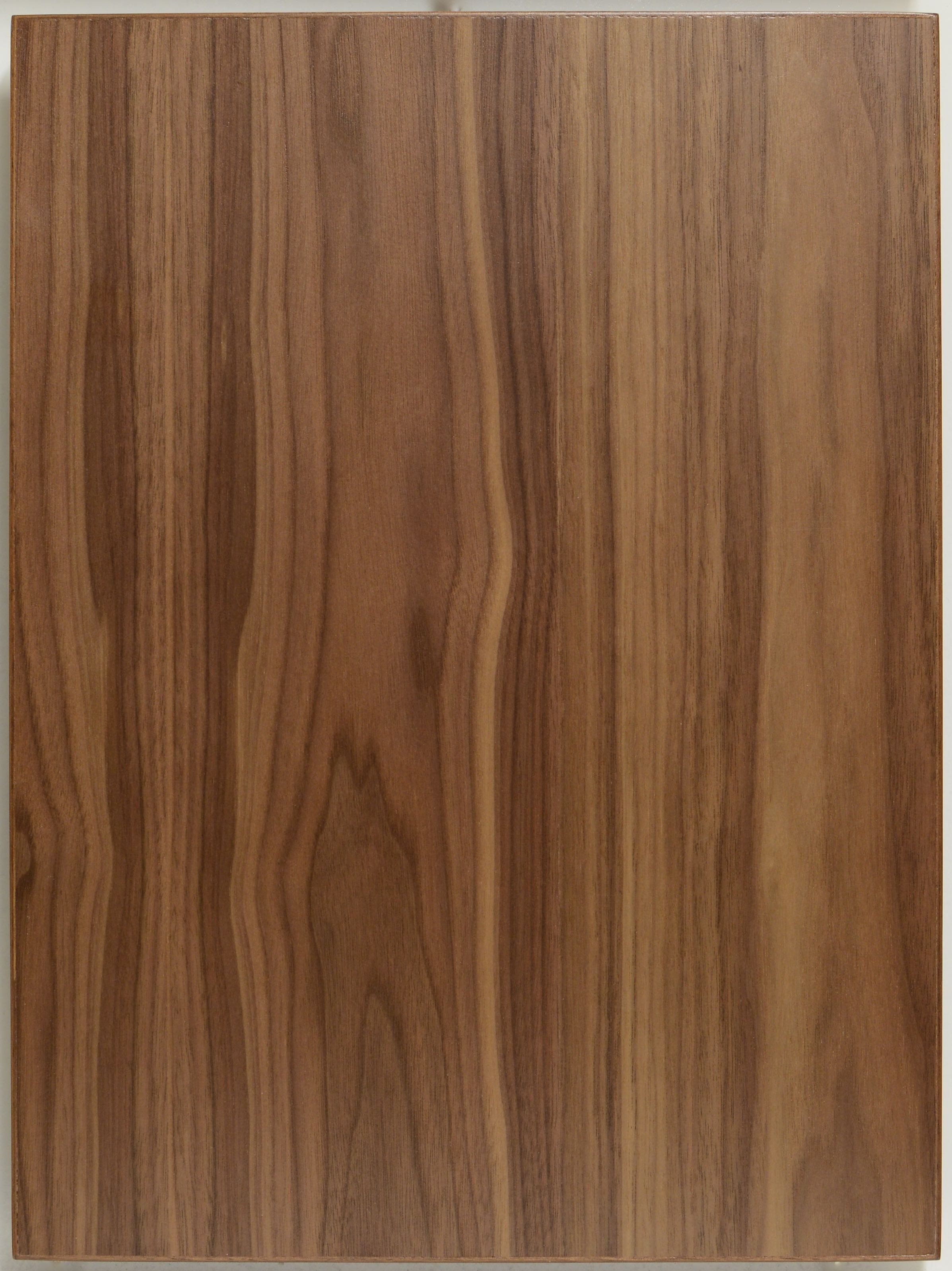 Modern Flat Cut Walnut Veneer Kitchen Cabinet Door By Allstyle