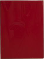 Soho red high gloss door with invisible edge made in Canada