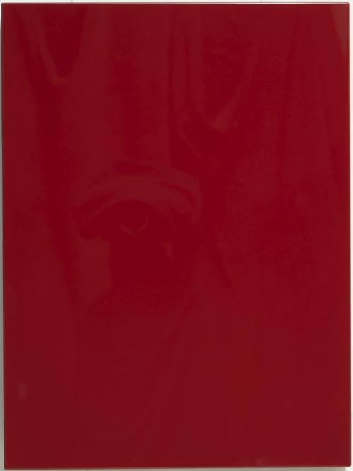 Red High Gloss Kitchen Cabinet Door