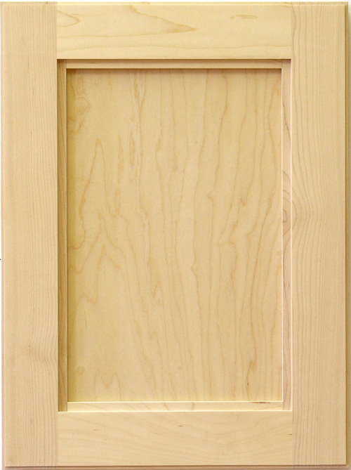 Cordoba cabinet door in maple
