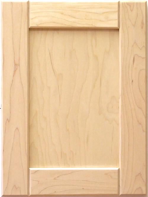 Adam Wood Shaker Kitchen Cabinet Door With V Groove Rails